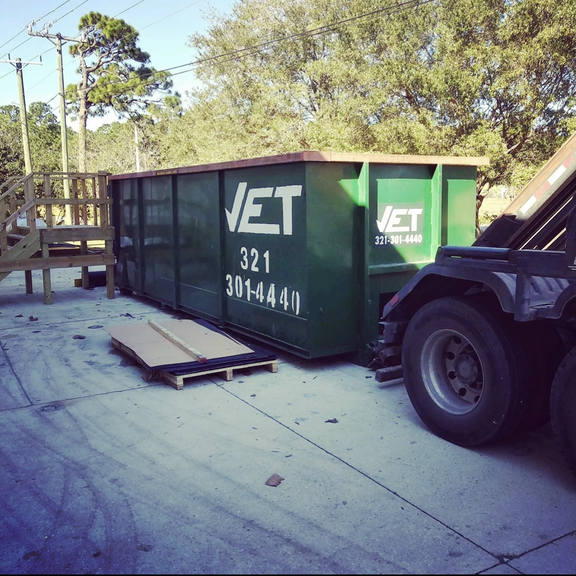 Palm Bay dumpster delivery near me