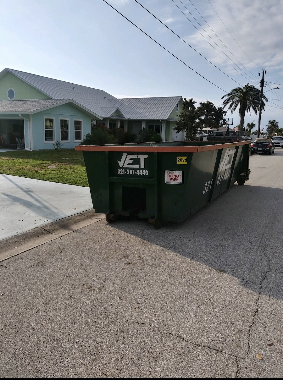 rent a dumpster in Palm Bay fl