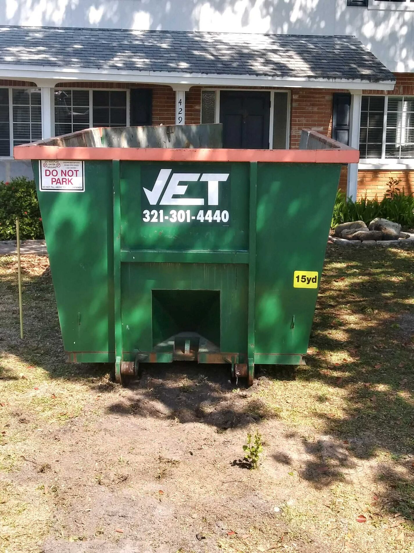 dumpsters for rent Viera