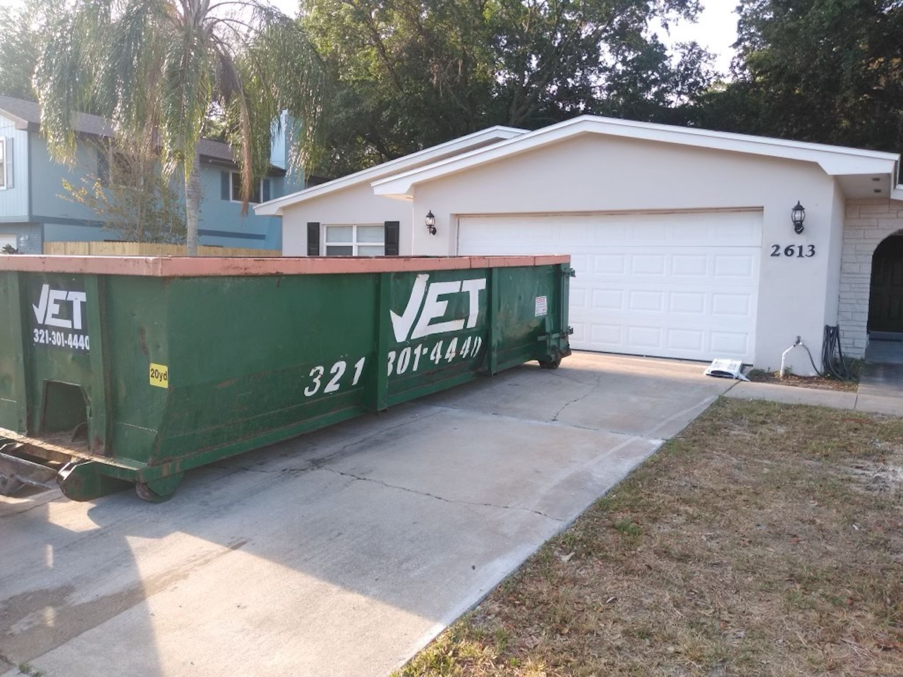 rent a dumpster in indian harbour beach fl