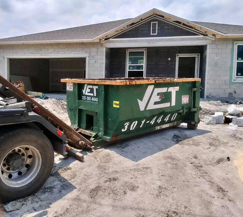 rent a dumpster in Palm Shores FL